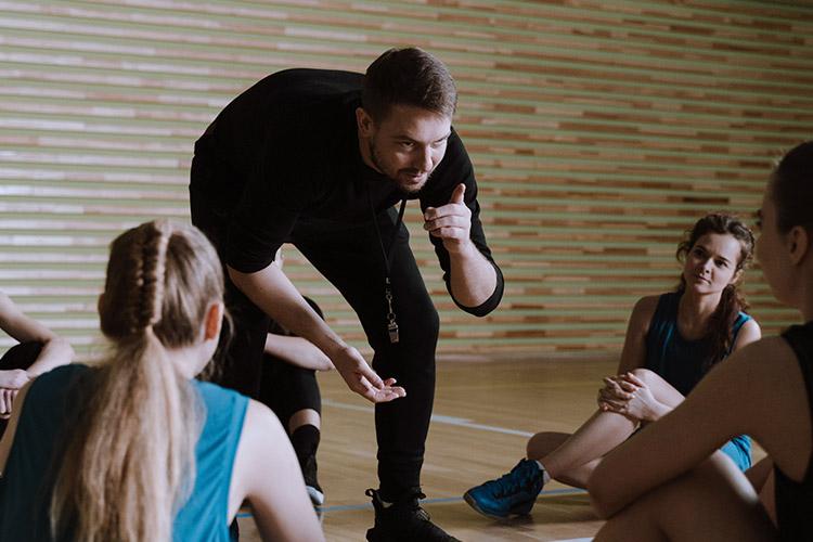 sporta nodarbību vadīšana
